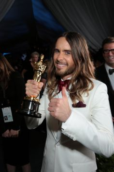 UHQ Great Moments.- Jared Leto at 86th Annual Academy Awards, Hollywood .- 02-03-2014