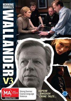 The second Wallander series. Swedish.2005-2010.  My favourite.