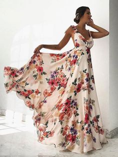 SPECIFICATIONS: Product Name Sexy Sleeveless Floral Print Maxi Dress Brand Lakyta SKU Gender Women Style Elegant/Sexy/Fashion Type Maxi Dress Occasion Party/Vacation/Daily Life Material Polyester fiber Sleeve Sleeveless Product No. Sexy Maxi Dress, Backless Maxi Dresses, White Maxi Dresses, Maxi Dress With Sleeves, Sexy Dresses, Casual Dresses, Best Maxi Dresses, Modest Dresses, Short Beach Dresses