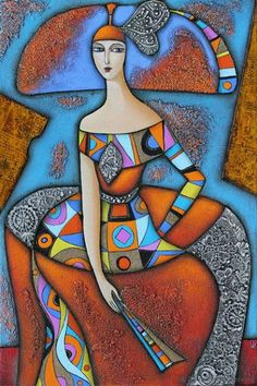 Chic by Wlad Safronow. (Oil Canvas)
