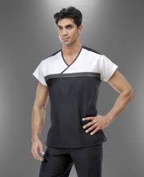 Resultado de imagen para modelos de mandiles medicos Sewing Hacks, Scrubs, Pattern, Mens Tops, T Shirt, Videos, Fashion, Outfit Work, Lab Coats