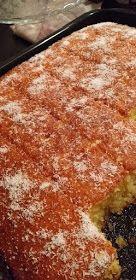 ΜΑΓΕΙΡΙΚΗ ΚΑΙ ΣΥΝΤΑΓΕΣ: Κέικ καρύδας με σιρόπι !!! Greek Sweets, How To Make Cake, Cake Cookies, Macaroni And Cheese, Deserts, Food And Drink, Ethnic Recipes, Cakes, Recipes