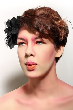 Illamasqua Inspired S/S Look - Makeup and Hair - Amy Callingham - Model - Emily