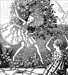 DOWN-ADOWN-DERRY- Was the ghost of me- a Fairy Child A Book of Fairy Poems by WALTER DE LA MARE Illustrations by DOROTHY P. LATHROP COPYRIGHT, 1922,