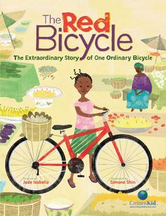 In this unique nonfiction picture book, the main character is a bicycle that starts its life like so many bicycles in North America, being owned and ridden by a young boy. The boy, Leo, treasures his