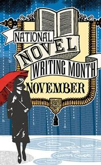 NaNoWriMo. This is happening. About time. 50,000 words in 30 days. I'm stoked.
