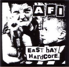 AFI- East Bay Hardcore (Kids With Gun) sticker (st418)