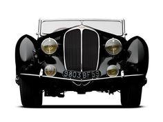 1938 Delahaye 135MS Cabriolet by Figoni & Falaschi