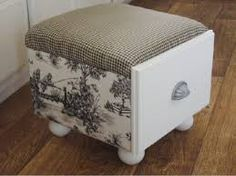 Image result for square tuffet pattern