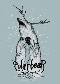 polarbear - gig poster