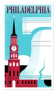 Philadelphia Logo or postcard