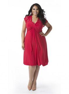 Teagan Plus Size Dress