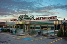 14 American Diners You Can't Miss On Your Next Road Trip  #1. Almac's Dinner in Fall River, MA. Right out my front door!