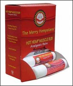Vegan Hot Hemp Muscle Rub