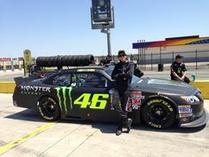 VR46, It's NASCAR time!