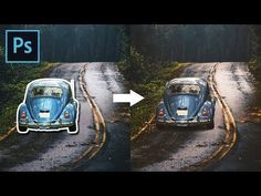 (53) How to Blend Images and Create a Composite in Photoshop - YouTube