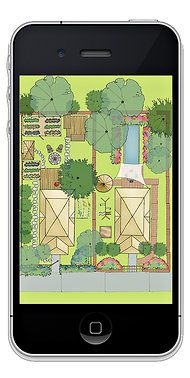 Apps for gardening to design plots and choose plants.