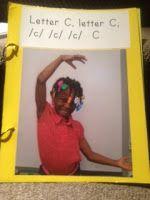 "Dr. Jean's ""Body Letters"" Class Alphabet Book"
