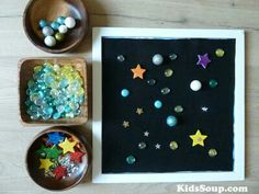 Fun STEM projects for Exploring Creation with Astronomy: Space and Planets activities and games for preschool and kindergarten Planets Activities, Space Activities, Kindergarten Activities, Preschool Activities, Dinosaurs Preschool, Space Projects, Projects For Kids, Stem Projects, Space Crafts
