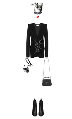 """IT!"" by maria-laura-correa-da-silva ❤ liked on Polyvore featuring NOVICA, Yves Saint Laurent and Maybelline"