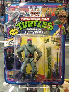 Playmates Teenage Mutant Ninja Turtles Movie Star Foot Soldier