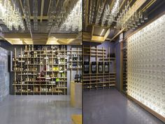 Taste Wine Co. store by Architensions, New York City » Retail Design Blog