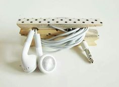 Headphone storage idea