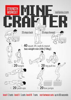 Minecrafter Workout