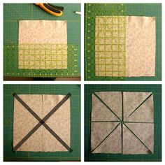 Half Square Triangle short-cuts