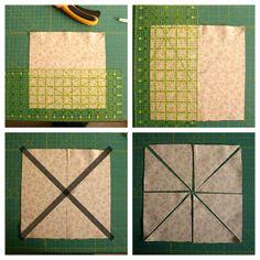 Half Square Triangle short-cuts