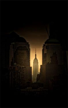 "NYC ~ In the middle of a blackout and night's coming. ~ Click through the large version for a full-screen view on a black background (set your computer for full-screen). ~ Miks' Pics ""Man Made l"" board @ http://www.pinterest.com/msmgish/man-made-l/"