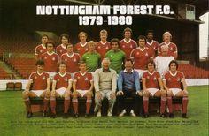 Nottingham Forest Football Club, Nottingham Forest Fc, Retro Football, Football Team, Real Madrid, La Champions League, Santiago Bernabeu, Back Row, Football Pictures