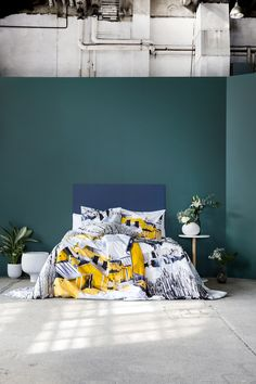 Porvoo and Lehtisade bedsets by Riina Kuikka, Credo bed set