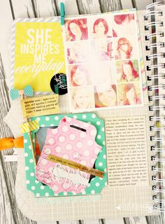 Which Scrapper inspires you? « Heidi Swapp Color pop, free class on her blog #colorpop #heidiswapp #hsmediateam