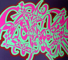 Oldskool -print on canvas by Howie Hardcore