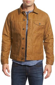 Filson Wax Coated Canvas Workwear Jacket available at #Nordstrom