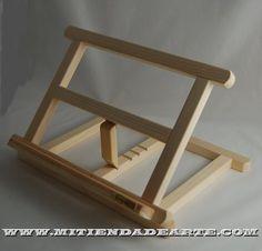atril de madera para cuadros - Buscar con Google