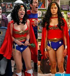 Who Wore it Best? Big Bang Theory