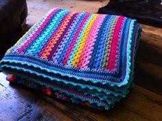 Ravelry: daisybd's granny stripe blanket