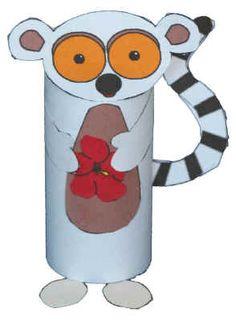 Rainforest-adorable-lemur-can make if i have enough toilet paper rolls