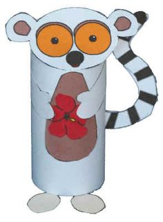 Rainforest-adorable-lemur-can make if i have enough toilet paper rolls