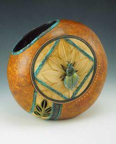 Arizona Gourds - Distinctive gourd art by Bonnie Gibson