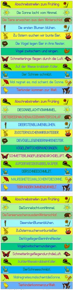 krabbelwiese: Abschreibstreifen - My best education list German Grammar, German Language, I School, Primary School, Writing Station, Subtraction Worksheets, Language Activities, Elementary Education, Education Humor