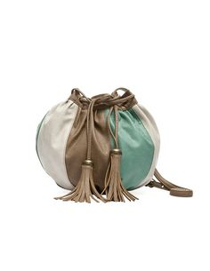 Tricolor bag by Blanco