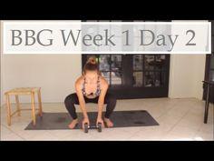 BBG Week 1 Day 1 - YouTube