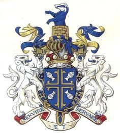 The Arms of The Right Honourable Baron Butler of Brockwell, K.G., G.C.B., C.V.O., P.C.