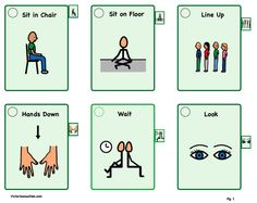 Victories and Autism - visual tools