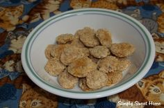 Chicken Flavored Cat Treats - Jerri of Simply Sweet Home is here to share with us how to make a delectable kitty treat.
