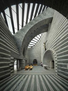 St John the Baptist Church | Lavizzara, Switzerland | Mario Botta, 1996