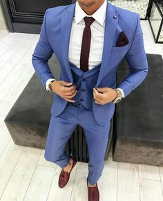 Worry no more my man! Because we've got the most Stylish Wedding Suit Styles For Nigerian Men which you could choose from the best naija men wedding suits styles of Prom Suits For Men, Best Suits For Men, Cool Suits, Wedding Suit Styles, Wedding Suits, Mens Fashion Suits, Mens Suits, Stylish Men, Men Casual